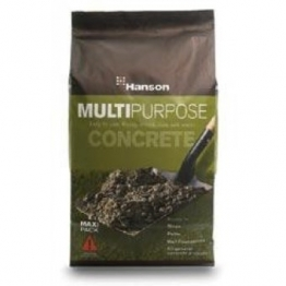 Ready Mixed Multi Purpose Concrete 25kg Aggregate Bag Size: 25kg Size: 25kg