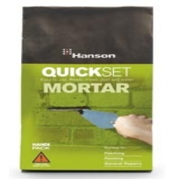 Quick Set Mortar Mix Size: 2kg