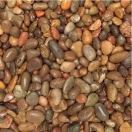 Beach Pebbles Natural Stones 25kg Bag