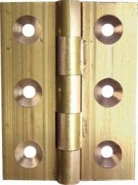 Pair Of 38mm Steel Butt Hinges / Cabinet Door Hinges - Self Colour