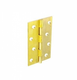 Pair Of Brass Butt Hinges 100mm