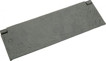 Tudor Interior Flap, Malleable Iron, 254 X 83 Mm