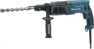 Makita Hr 2470t-1/1 And 2 24 Mm Sds-plus Rotary Hammer Drill