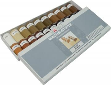 Hafele Soft Wax Sticks, 20x Half Sticks