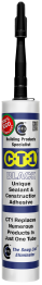 Ct1 Sealant Adhesive Black