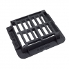 Clark-drain Gully Grate & Frame Ductile Hinged 370mm X 430mm