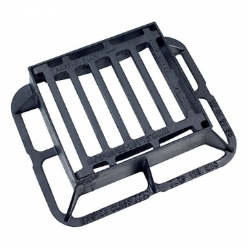 Clark Gully Grate & Frame 340mm X 305mm X 100mm Ductile Hinged C250 Clks 129kmc