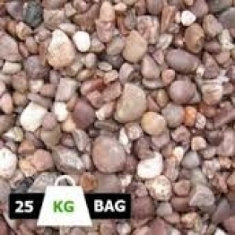 Staffordshire Pink Natural Stones 25kg Bag