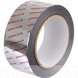Celotex Insulation Board Foil Tape 50mm X 55m Also For/ Kingspan / Xtratherm / Recticle