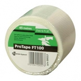Gyproc Thistle Ft100 Self Adhesive Mesh Tape 100mmx45m