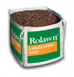 Rowlan Landscaping Bark Chippings Mulch Bulk Bag 1m³