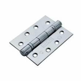 Ball Bearing Door Hinge - 100mm - Polished Chrome
