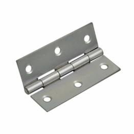 Steel Butt Hinges / Door Hinges Self Colour 65mm