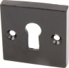 Square Standard Keyway Escutcheon, Malleable Iron