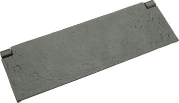 Tudor Interior Flap, Malleable Iron, 254 X 83 Mm