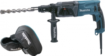 Makita 110v/240v Sds-plus Rotary Hammer Drill And Knee Pad Set