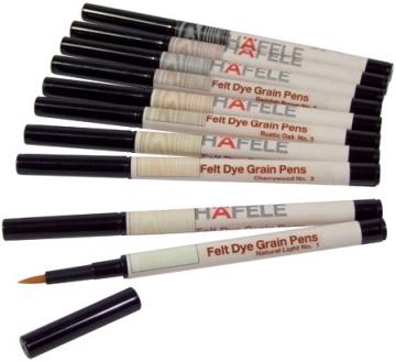 Hafele Felt Dye Graining Pens