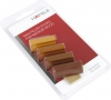 Hafele Soft Wax Sticks, Medium Wood Shades