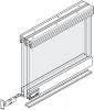 Hafele Display Bottom Rolling Door System For 4-6 Mm Glass For 2 Doors With 1.2 M/1.5 M/1.8 M Track Length
