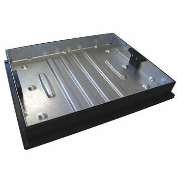 Clark-drain Manhole Cover And Frame Driveway Block Paviour 450mm X 600mm