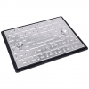 Clark-drain Manhole Cover And Frame Galvanised Steel 450mm X 600mm 5 Tonne