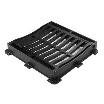Clark Gully Grate & Frame 300mm X 300mm Dished Ductile Med Duty Clks 60ddi